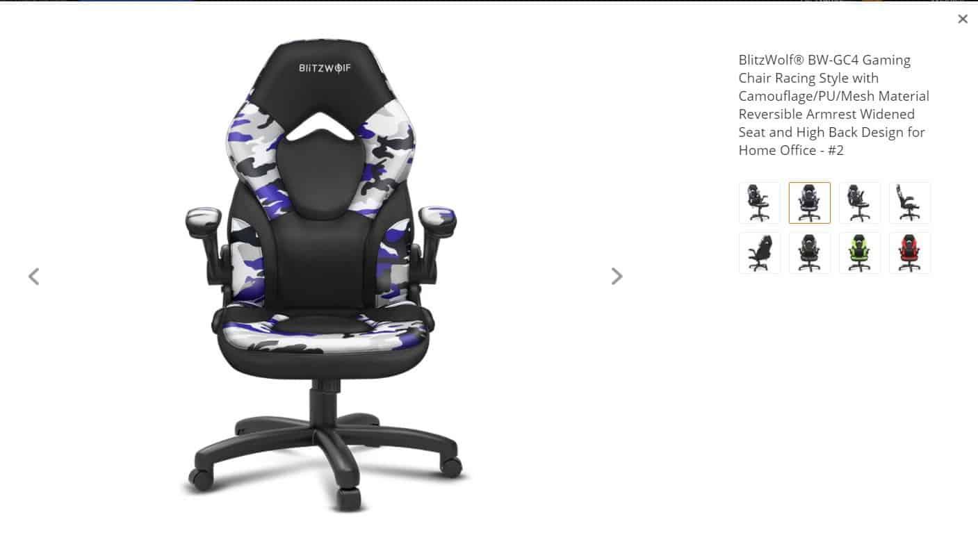 cadeira gaming a