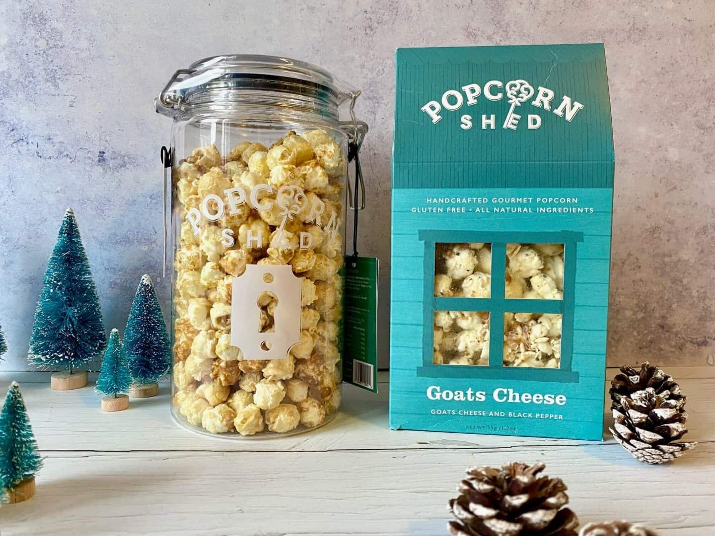 Butterly Nuts popcorn gift jar