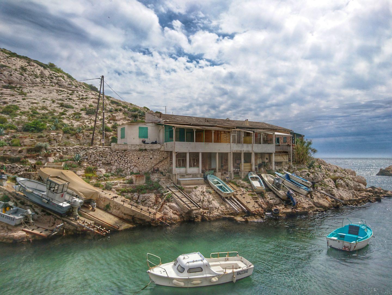 Calanque de Callelongue, Quartiers Sud Marseille