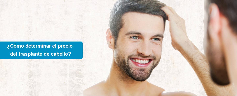 ¿Cómo determinar el precio del trasplante de cabello?