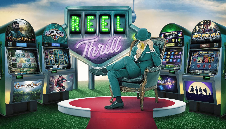 Reel Thrill Casino Turneringer på mr green