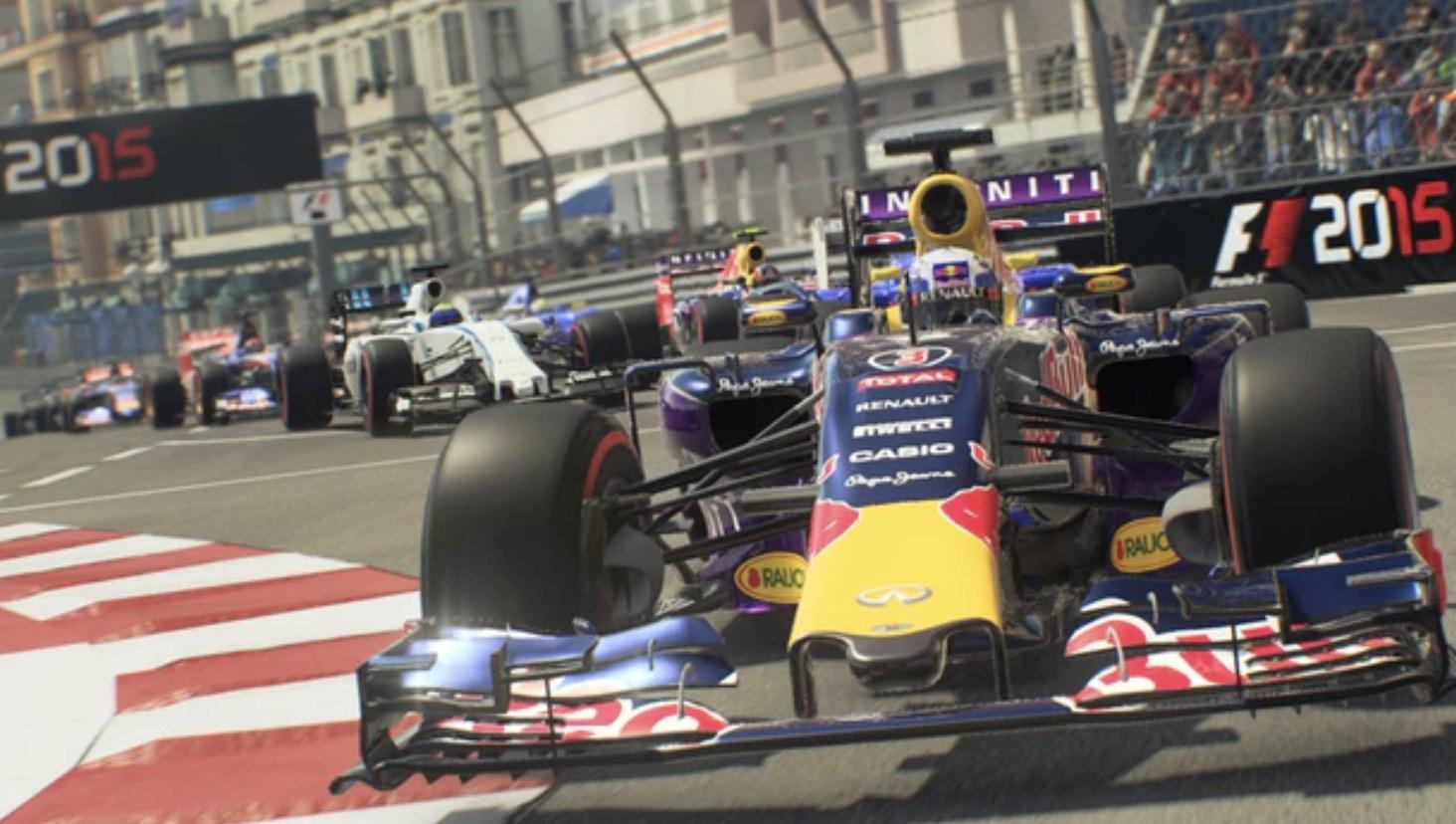 Formel 1 2015 - Screenshot