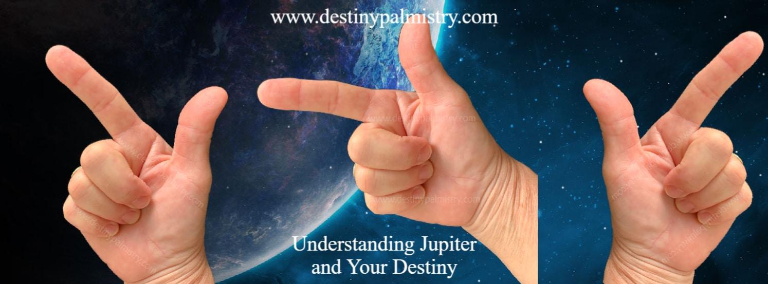 jupiter finger, palmistry index finger