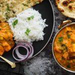 Овощное рагу с адыгейским сыром по-индийски - Сабджи Панир