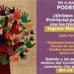 Podemos Albacete ayudará a los ciudadanos que quieran tramitar el Ingreso Mínimo Vital