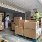 La Junta envía más de 120.000 artículos de protección y 600 test rápidos a la provincia de Albacete