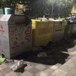 """El PP denuncia la situación de los """"contenedores de basura rebosantes"""" a pesar del nuevo contrato de la Diputación"""