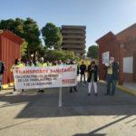 Los trabajadores del transporte sanitario de Albacete exigen a las empresas y a la Administración el cumplimiento del convenio colectivo