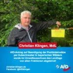 Pestizideinsätze in bayerischen Wäldern