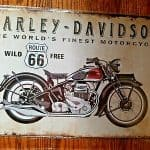 Motorcycle Garage Signs