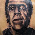 Tattoo realista frankenstein. Abbyss Zaragoza