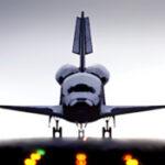 Moeilijk maar leuk iPad spel: Space Shuttle Sim