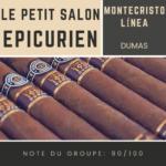 Le salon des Epicuriens - Montecristo Linea 1935 Dumas