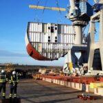 Navantia San Fernando pone la quilla de la cuarta corbeta para Arabia, que se llamará 'Jazan'