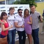 Reklama na jachtařské akci v Rusku, foceno modelem Galaxy Alpha?