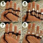Parmak Örgüsü Nasıl Yapılır