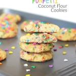 Funfetti Coconut Cookies