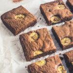 Schoko-Bananen-Brownies
