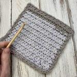 Trinity Stitch Wash Cloth - Free Crochet Pattern