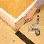 Пример как правильно постелить ковролин