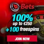 How to get 100 free spins and no deposit bonus to b-Bets Casino?