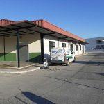 Desinfección de centro de exámenes de de la DGT