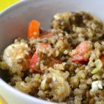 Insalata di quinoa e feta bimby