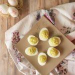 Uova ripiene agli asparagi bimby