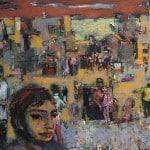 Classes d'art a Barcelona Taller de 4 Pintors. LLEGENDA DE SANT JORDI