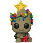 funko-pop-groot-edicion-navidad-con-estrella-y-luces