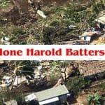 Cyclone Harold Batters Fiji