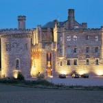 Dalhousie Castle Hotel. Edinburgh, Scotland