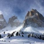 Skiing in Val Gardena