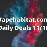 Vapehabitat.com Daily Deals 1118 featured image