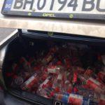 Polițiștii-rutieri-au-deturnat-o-mașină-plină-cu-ALCCOL-la-Recaș-1