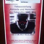 Ausstellung Hans Will im KulTour in Kitzingen