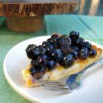 blueberry cheesecake tart