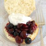 cherry blueberry shortbread