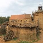 Zu Besuch in Guédelon: Wo die neue Burg wächst