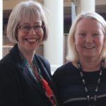 Alison Stewart and Hilda Hayo