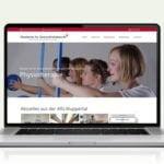Webdesign designplus Köln Referenz - Responsive Website für die Akademie für Gesundheitsberufe AfG in Wuppertal