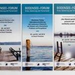 Grafik-Design Print Referenz Bodensee-Forum Werbemittel