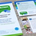 Print Grafik-Design Referenz MVZ Gemeinschaftspraxis für Onkologie Köln