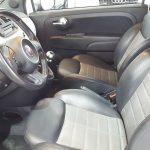 Interior delantero FIAT 500 0.9 Turbo TwinAir 85cv Sport