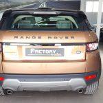 Trasero Land Rover Range Rover Evoque SD4