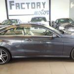 Lateral Mercedes-Benz E250 Coupe BlueTEC