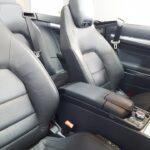Asientos delanteros Mercedes-Benz E 220d Cabrio
