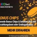 NEO.bet Sportsbook 200€ Gratiswette Willkommensbonus