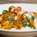 Curry met kip 'tikka masala'