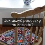 poduszki na krzesło z kodury